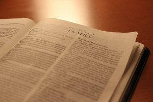 The book of James – our Sunday morning Bible study
